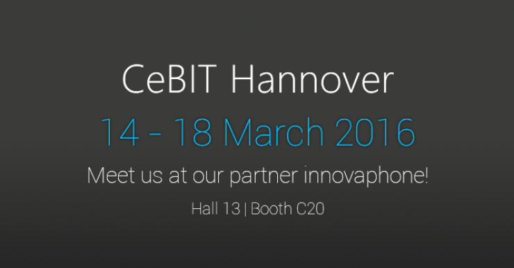 CeBIT 2016: Join us to create success