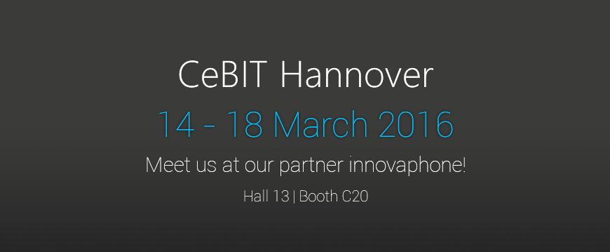 CeBIT 2016: Join us to create success