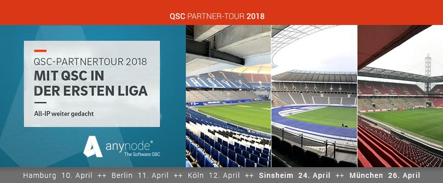 Halbzeit bei der QSC Partnertour 2018