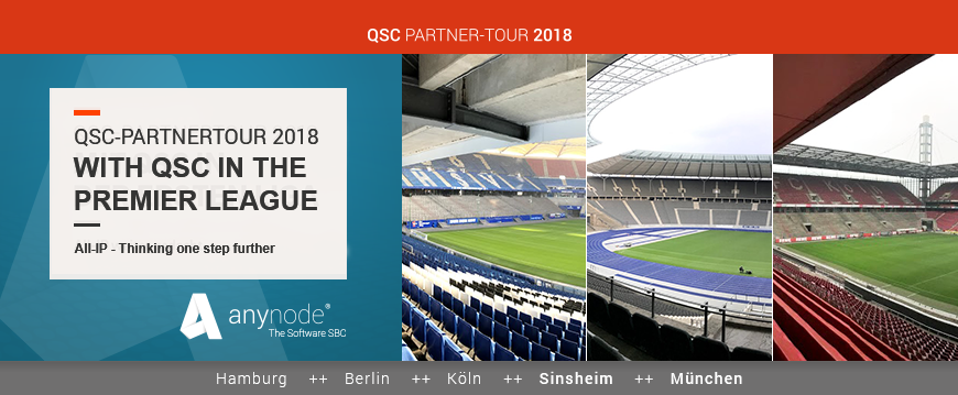 Halftime at the QSC Partner Tour 2018