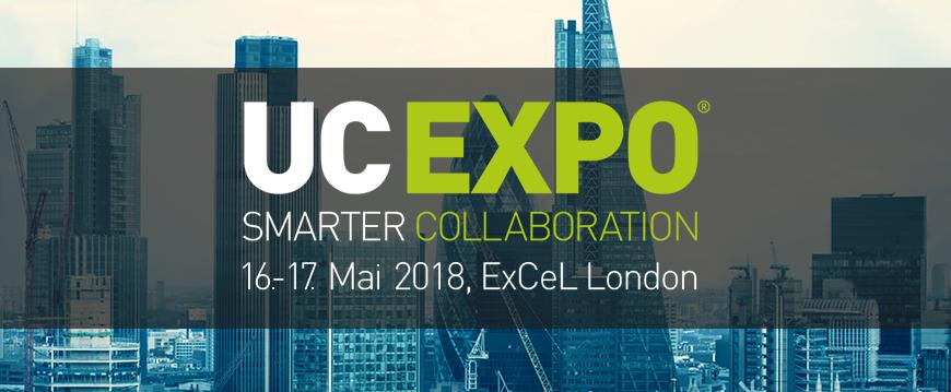 Treffen Sie uns auf der UC EXPO 2018 in London