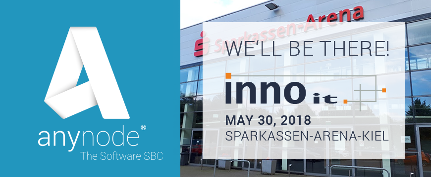 We hope to see you at INNO IT in Kiel next week!