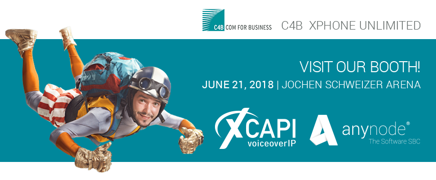 We are looking forward to the C4B partner event in the Jochen Schweizer Arena in Munich!