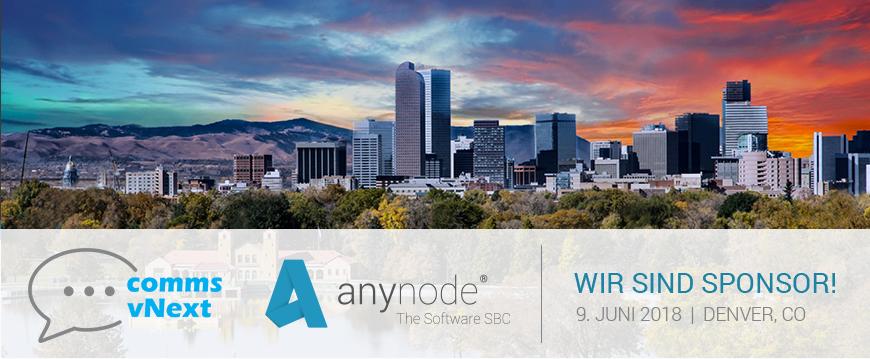 Seien Sie dabei auf der ersten Communication vNext in Denver