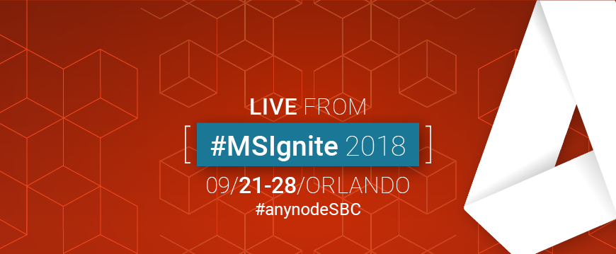 Twitter-Livestream from Microsoft Ignite 2018