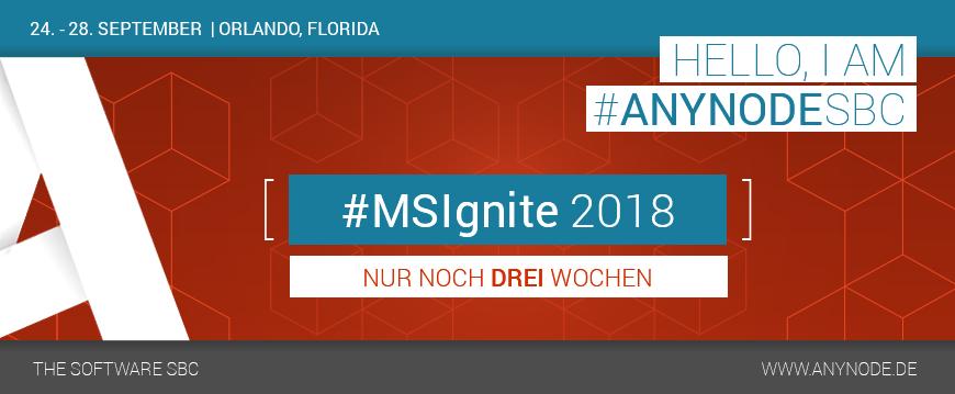 Microsoft Ignite 2018 – Der Countdown läuft!