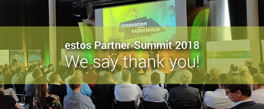 Estos Partner Summit: We say thank you for this great day!