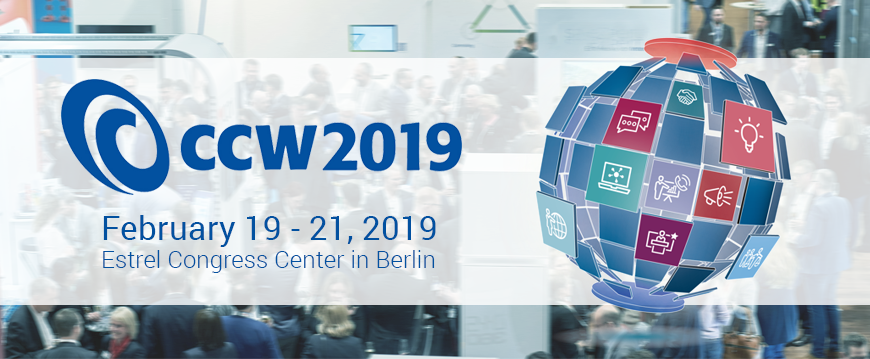 CCW Berlin – We are coming!