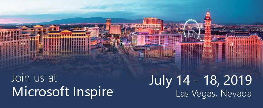 Don't miss Microsoft Inspire!