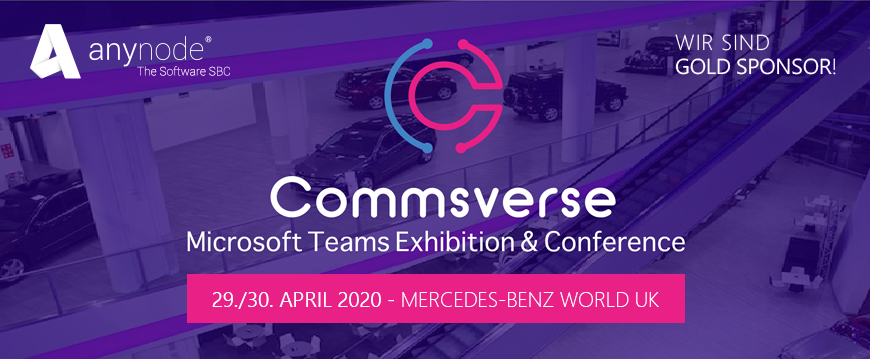 Commsverse – Microsoft Teams-Konferenz am 29./30. April 2020