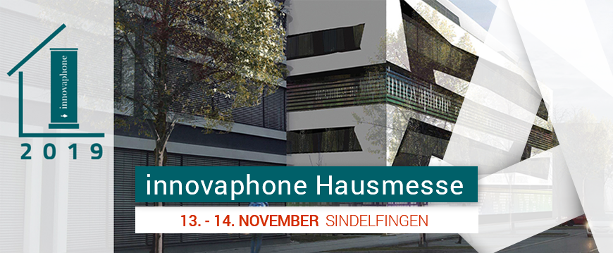 innovaphone Hausmesse 2019 am 13./14. November 2019 in Sindelfingen