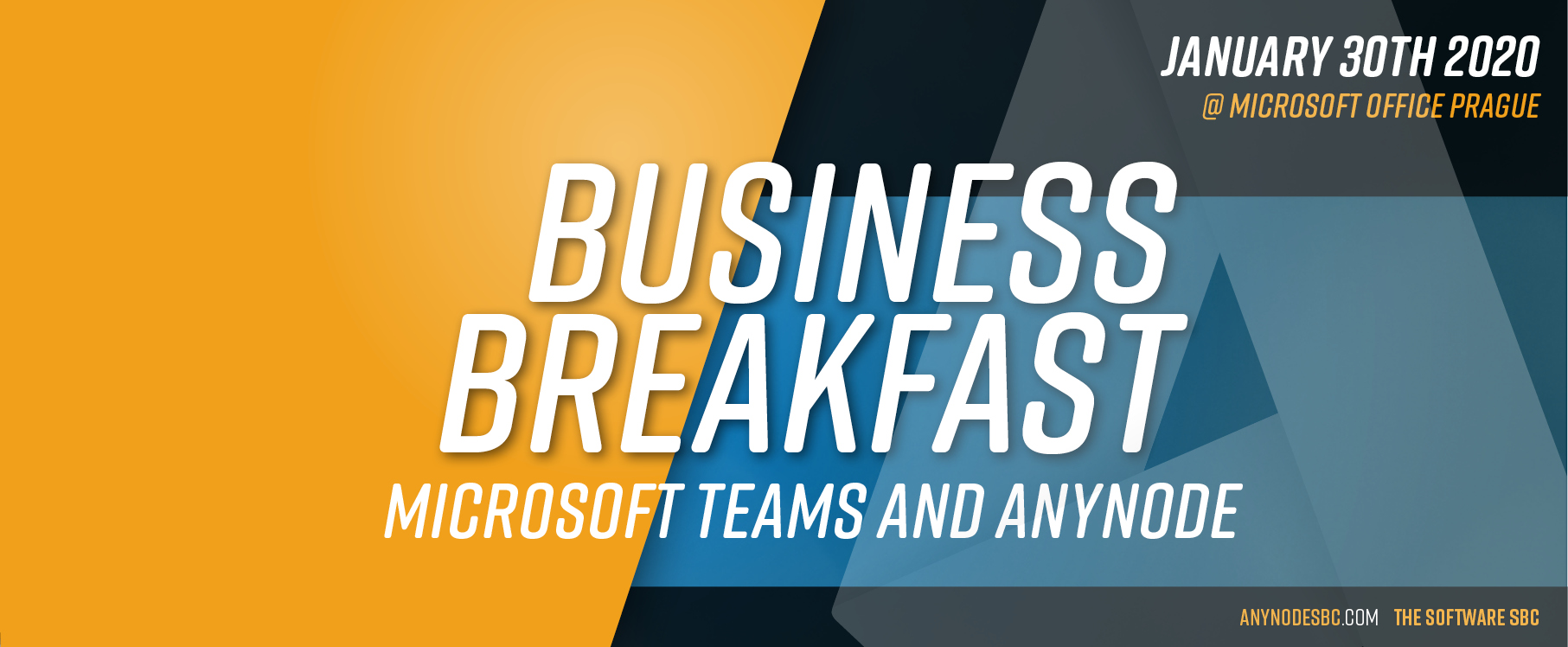 Business Breakfast @ Microsoft Office Prague