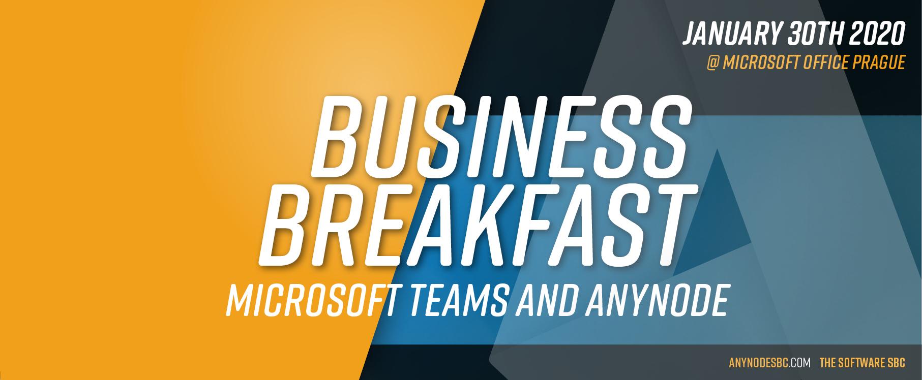 Business Frühstück @ Microsoft Office Prag