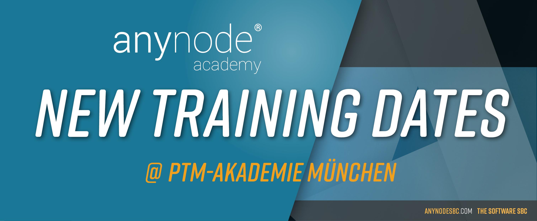 Neue Termine für anynode basic Schulungen bei der ptm-Akademie in München