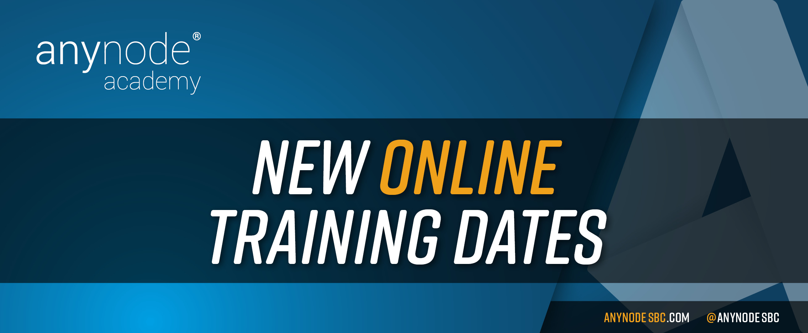 new online training dates available for may