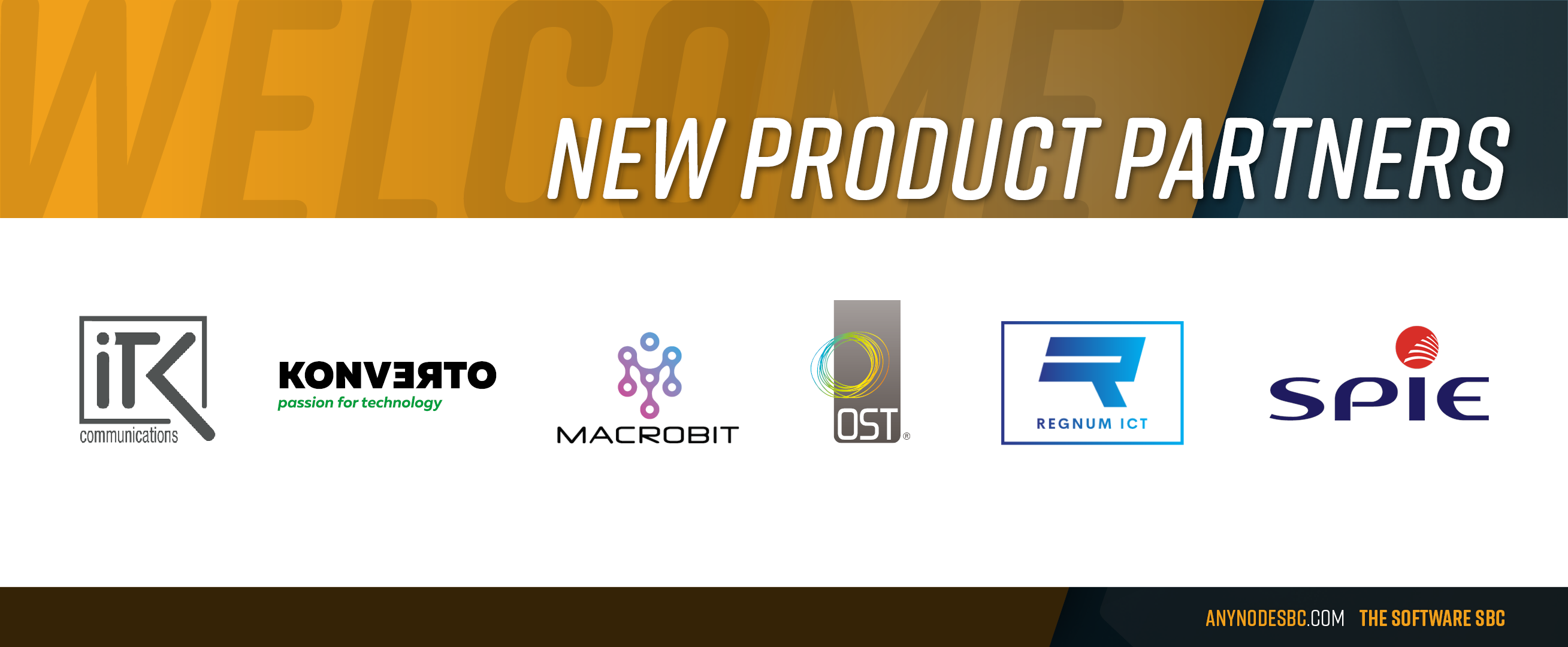 New anynode Product Partners in May 2020!