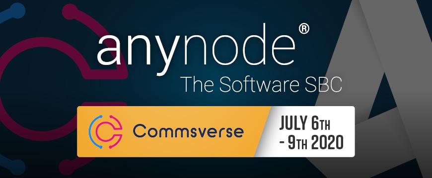 anynode @ Commsverse Online 2020