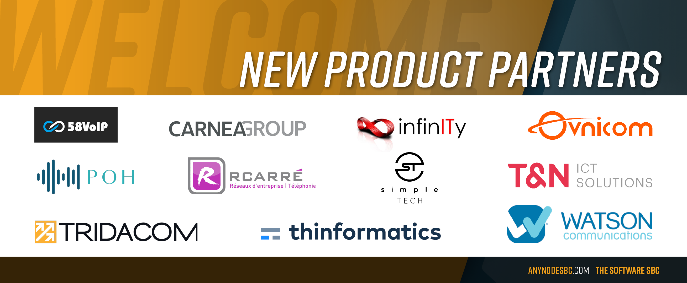 New anynode Product Partners in June 2020!