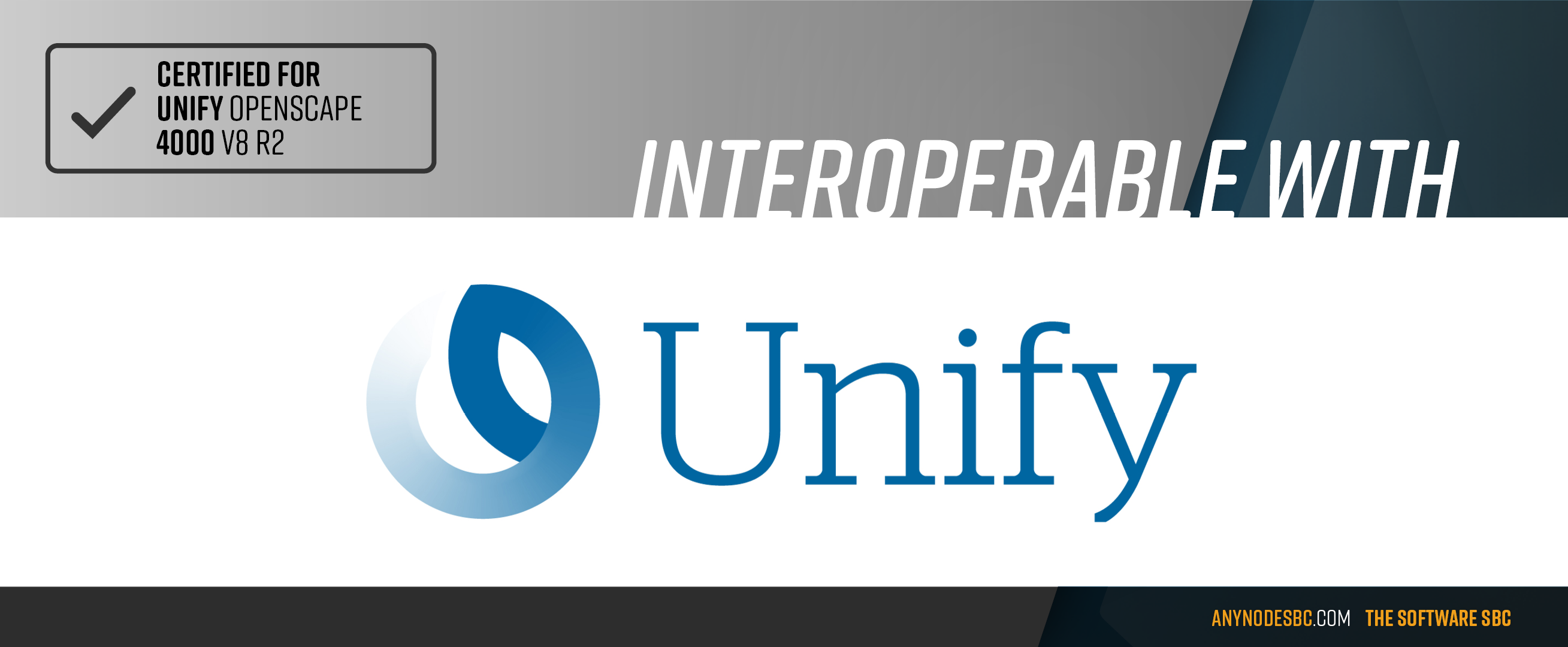 TE-SYSTEMS' anynode is certified to Atos Unify Open Scape 4000 V8 R2
