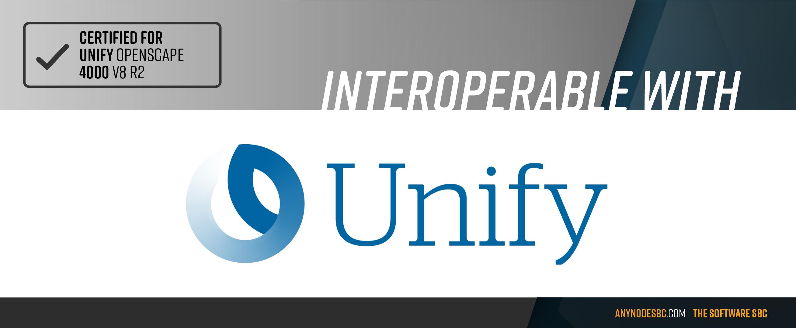 TE-SYSTEMS anynode ist zertifiziert für Atos Unify Open Scape 4000 V8 R2