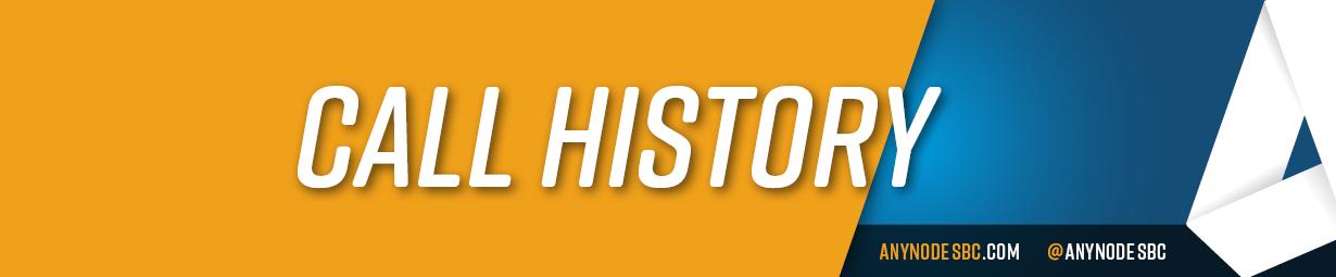 call history header